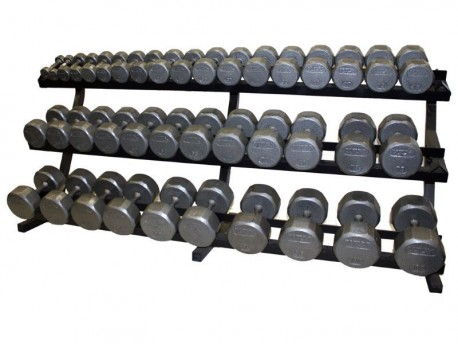 Troy VTX 3-Tier Horizontal Dumbbell Rack