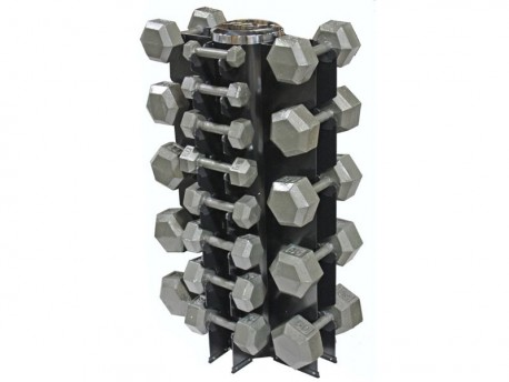 Vertical Dumbbell Rack - 13 Pair
