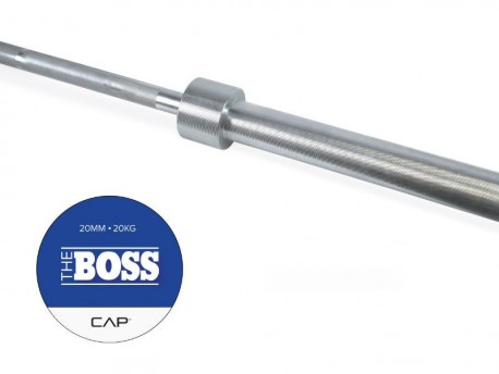 CAP Boss Barbell Silver Zinc