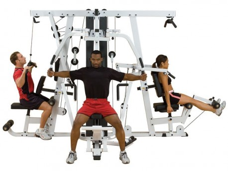Body Solid EXM4000S Selectorized Home Gym, Commercial Grade