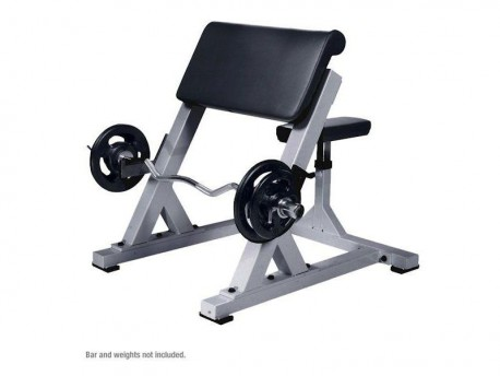 York STS Preacher Curl Bench