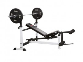 York FTS Olympic Combo Bench with Leg Developer