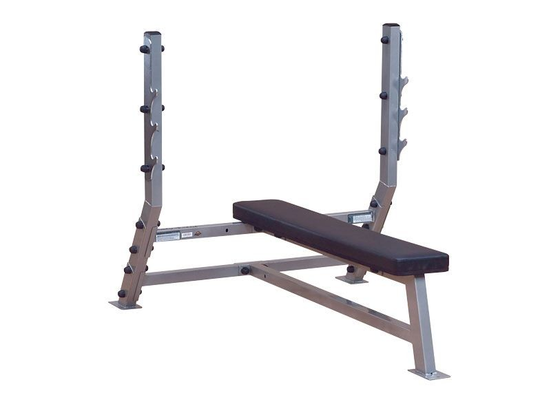 Body Solid Commercial Flat Bench A Competition Weight Bench