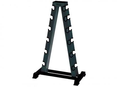 York 5-30lb A-Frame Dumbbell Rack