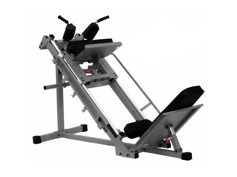 XMark Light Commercial Leg Press & Hack Squat Machine