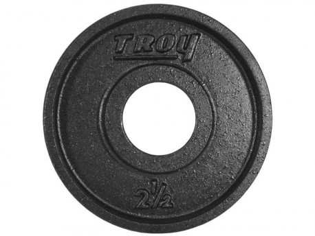 Troy Premium Weight Plate Black