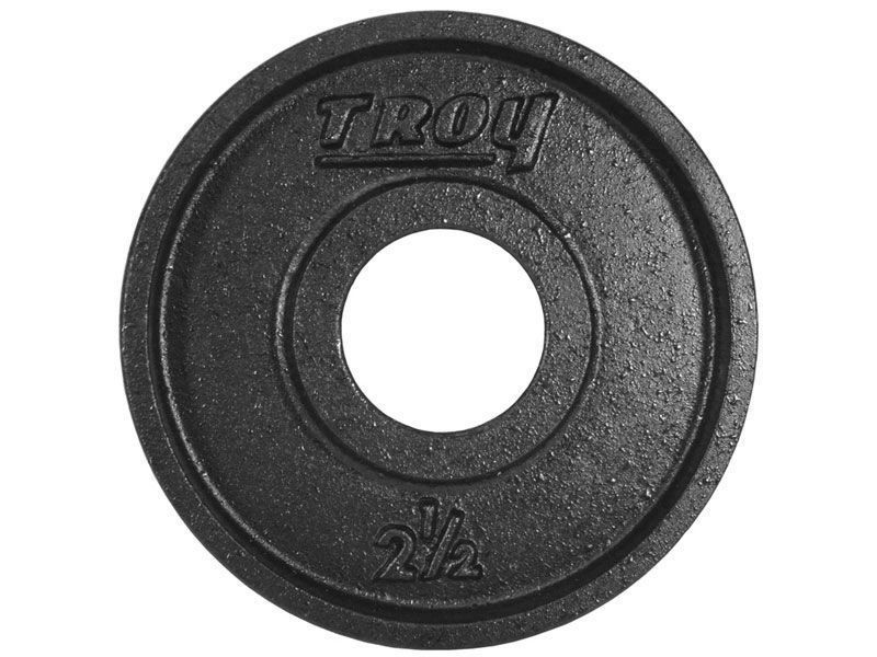 e4956bf3353 Troy Premium Calibrated Deep Dish Weight Plate Black