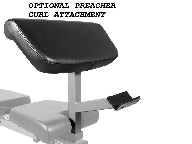 Xmark Light Commercial Flat Incline Decline Bench