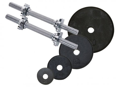 Standard 5-75lb Adjustable Dumbbell Set