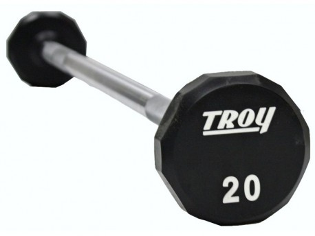 Troy Urethane Fixed Weight Barbell