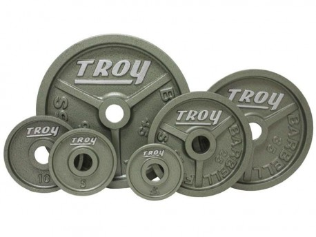 Troy 255 lb Olympic Premium Weight Set