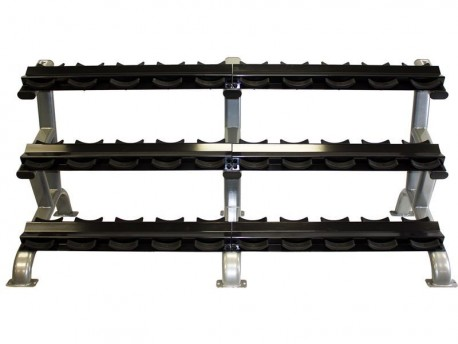 Troy 15-Pair Pro-Style Dumbbell Rack