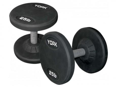 York Rubber Pro Style Dumbbells