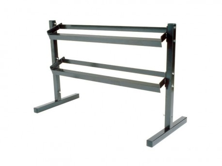 York 2-Tier 5-50lb Economy Dumbbell Rack