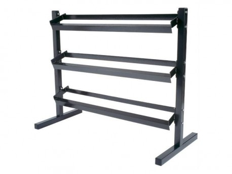 York 3-Tier 5-70lb Economy Dumbbell Rack