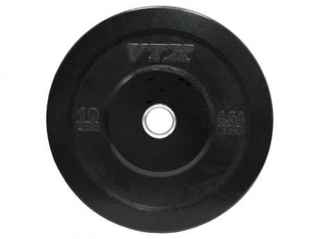 Troy VTX Black Rubber Bumper Plates