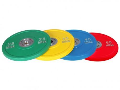 Intek Alpha Urethane Bumper Plate LB Color