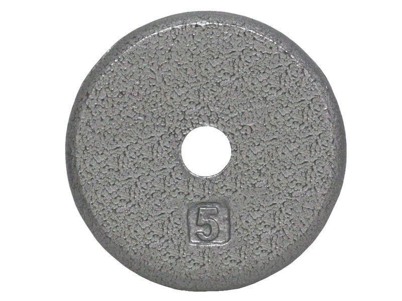 ce9832b9e7a Cast Iron Standard Pancake Weight Plate Grey