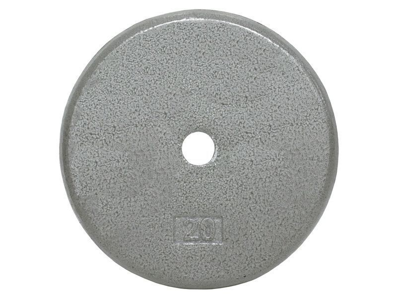 Cast Iron Standard Pancake Weight Plate Grey