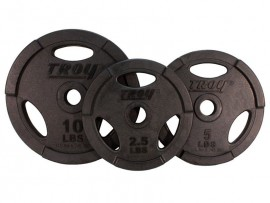 Troy Standard Rubber Weight Plate