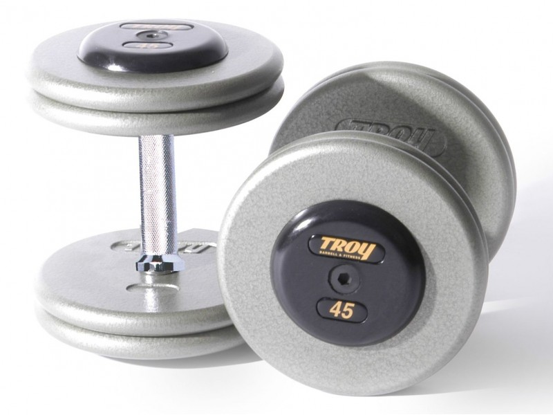 Dumbbells For Sale >> Troy Pro Style Fixed Weight Dumbbells For Sale