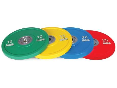 Intek Alpha Urethane Bumper Plate KG Color