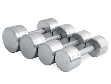 CAP Chrome Steel Dumbbell
