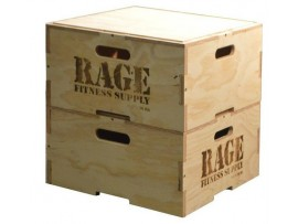 Rage Stackable Wooden Plyo Box