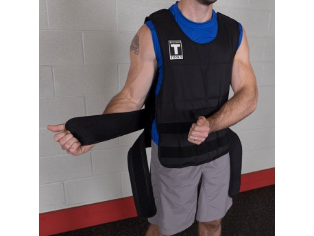 Body Solid 40lb Adjustable Weighted Vest