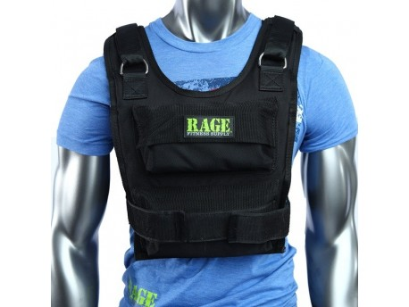 Rage Adjustable Weighted Vest 36lb