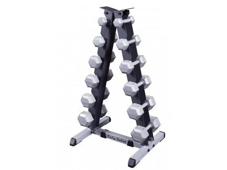 Body Solid 5-30 lb Vertical Dumbbell Rack