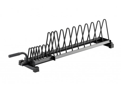York Horizontal Bumper Plate Rack Full Size