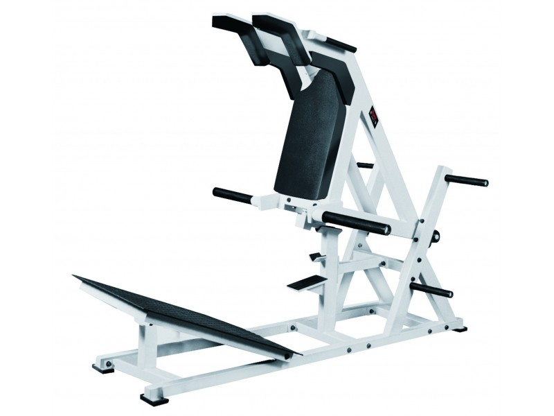 York Sts Front Squat And Hack Squat Machine