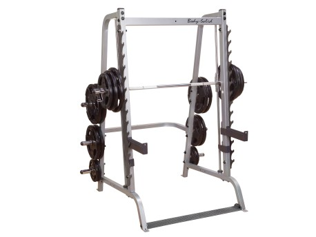 Body Solid Series 7 Smith Machine with Half Rack