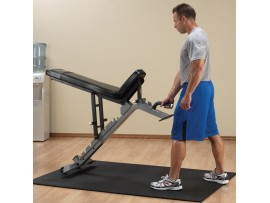 Body Solid ProClub Flat/Incline/Decline Bench