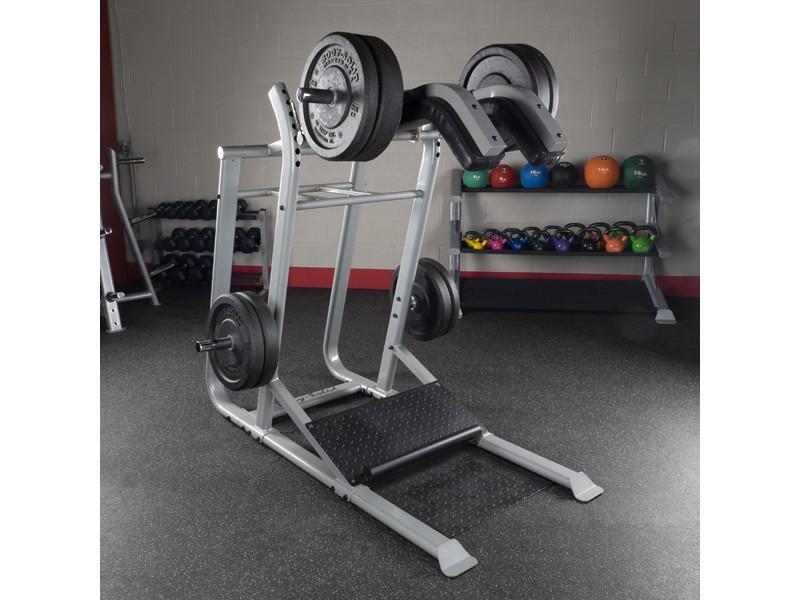 Body solid proclub leverage squat machine for Squat station