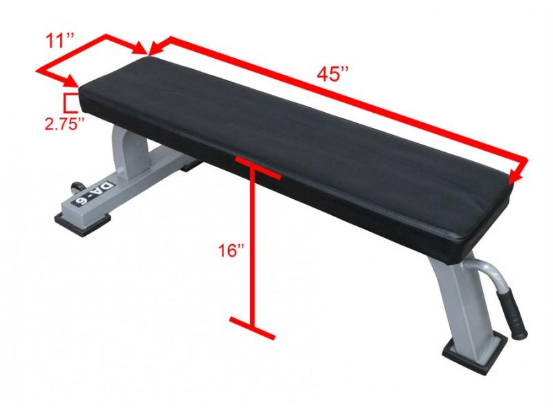 Valor Da 6 Light Commercial Flat Bench