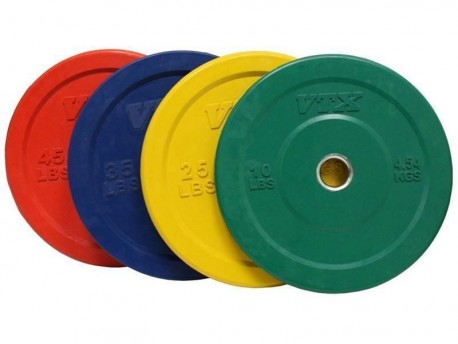 Troy VTX Color Bumper Plates 260lb Set