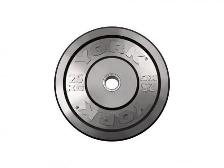 York Bumper Plates 140kg Set