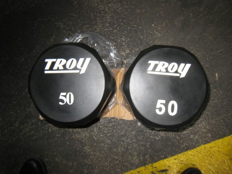 FACTORY SECOND Troy Premium Urethane Dumbbell