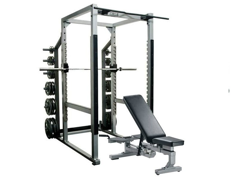 york sts power rack and weight bench combo for sale