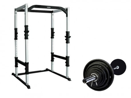 York FTS Power Rack and Weight Set