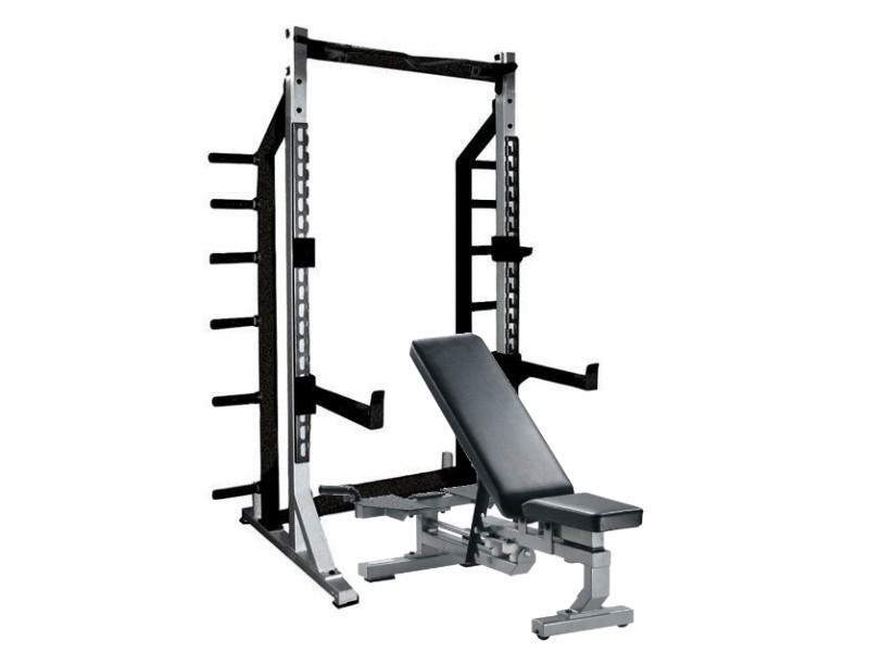 York Sts Weight Bench And Squat Rack Combo For Sale