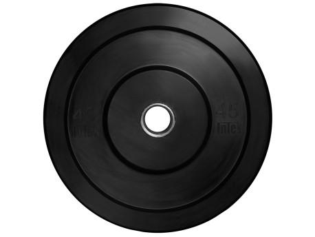 Intek Champion Series Bumper Plate LB Black