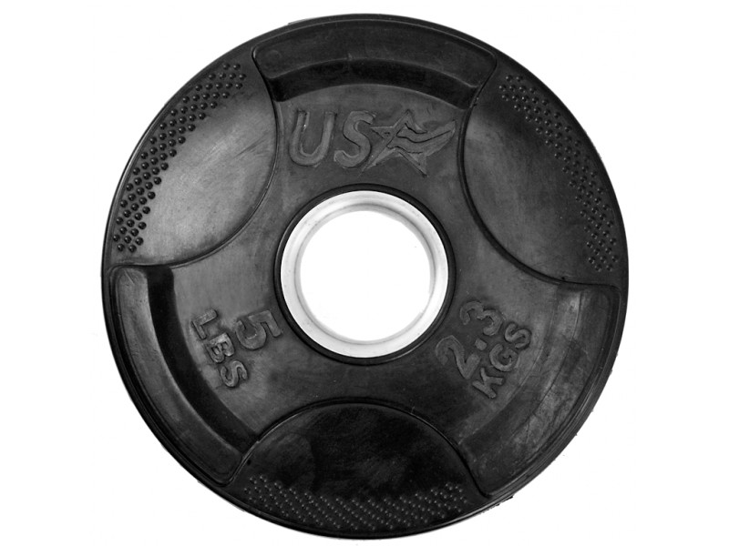 Usa Sports Rubber Coated Plate