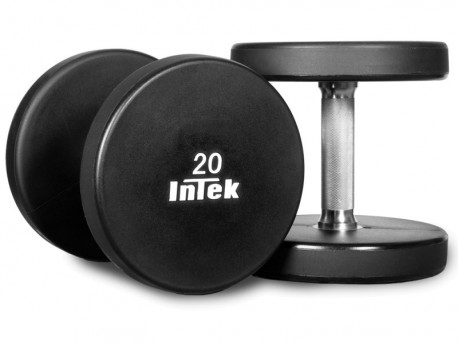 Intek Armor Series Dumbbell Set 5-50lb with Rack