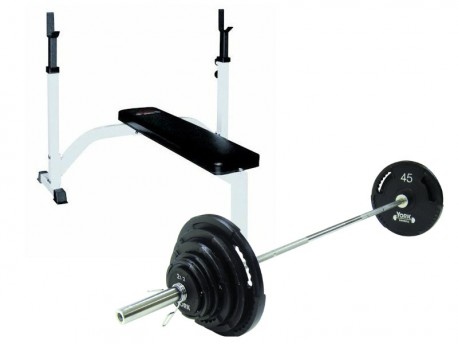 York FTS Weight Bench with Weights
