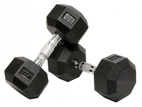 Troy VTX 8-Sided Urethane Dumbbells