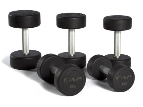 CAP Commercial Rubber Dumbbell