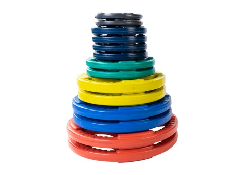 Body Solid Color Rubber Grip Plate